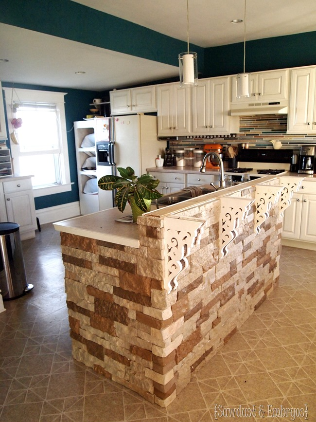 Add a breakfast bar to your existing island!