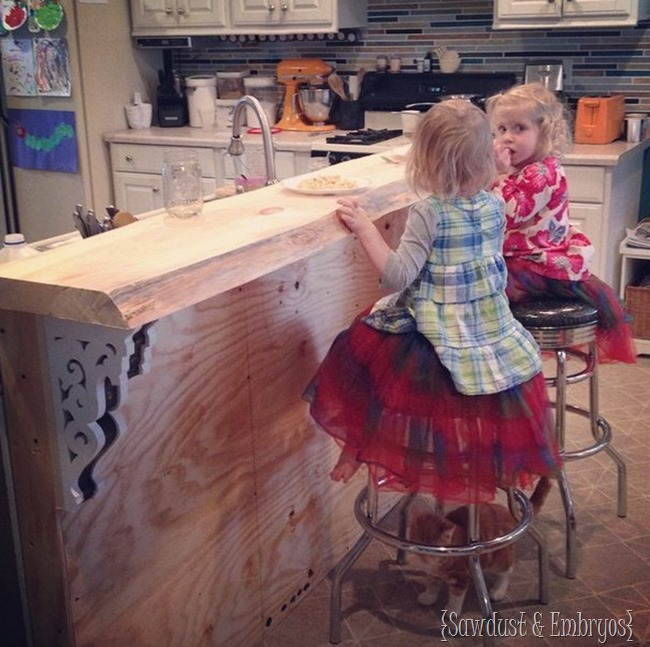 Build your own breakfast bar!