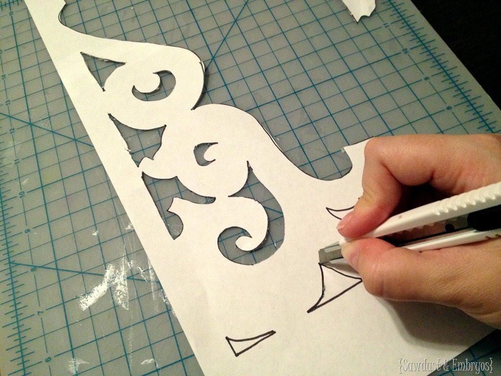 Create A Template For Making Your Own Corbels