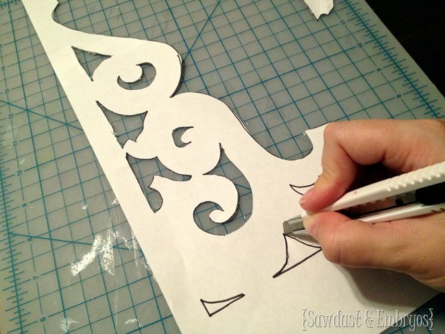 Create a template for making your own corbels!