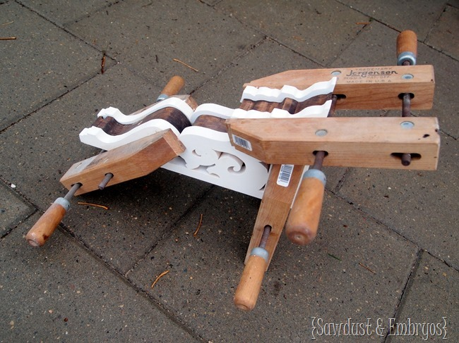 DIY Corbels {Sawdust & Embryos}