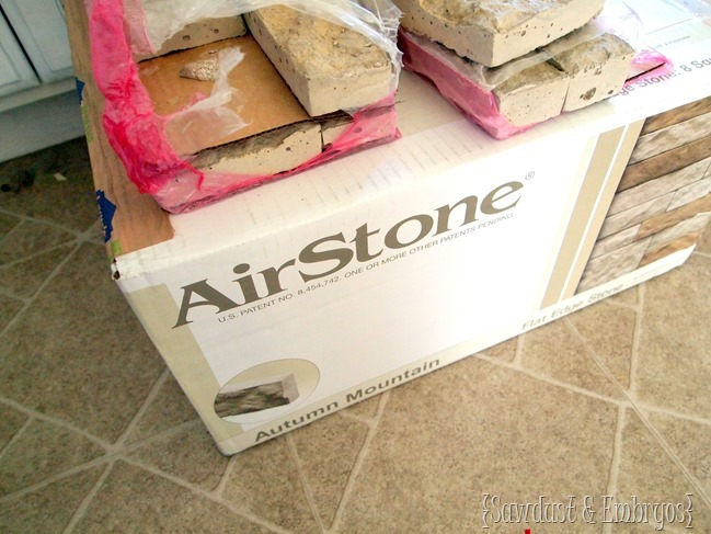 LOVE AirStone! {Sawdust and Embryos}