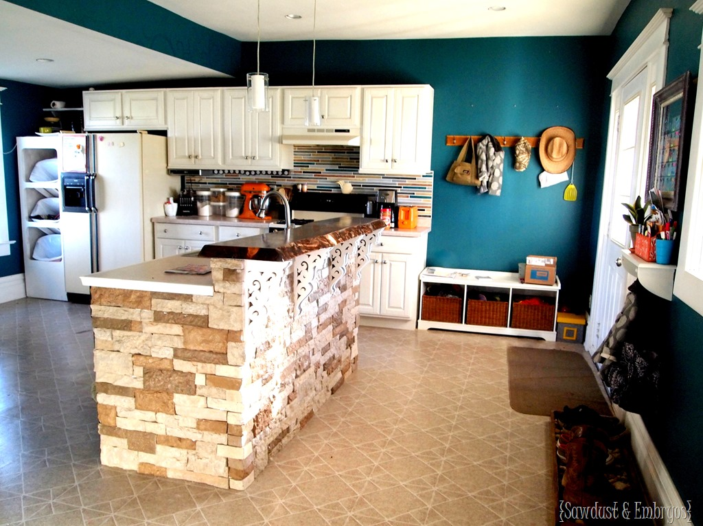 Island Kitchen Bar adding a breakfast bar to the island - reality daydream
