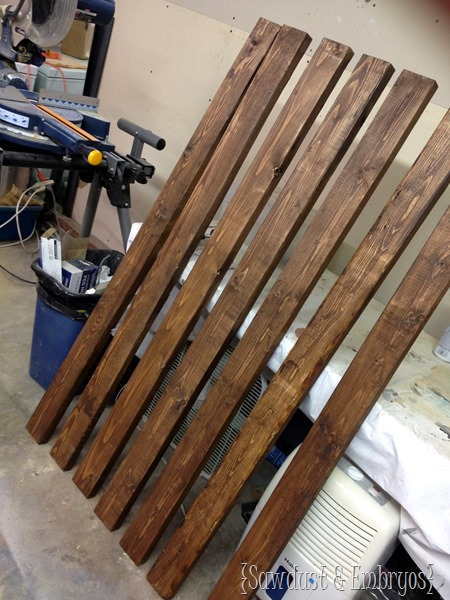 Built-in mudroom bench {Sawdust and Embryos}