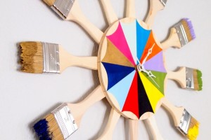 Colorful-Paint-Brush-Starburst-Clock-or-mirror-Tutorial-Sawdust-and-Embryos.jpg