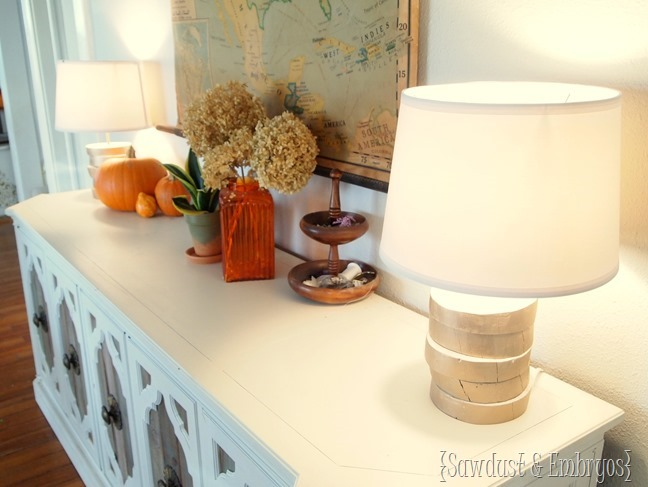 DIY Wood-Slab Lamp and Wiring Tutorial {Sawdust & Embryos}