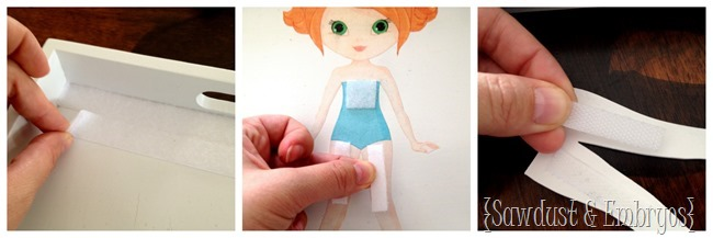 DIY Wooden Paper Doll with Wooden clothing! {Sawdust and Embryos}