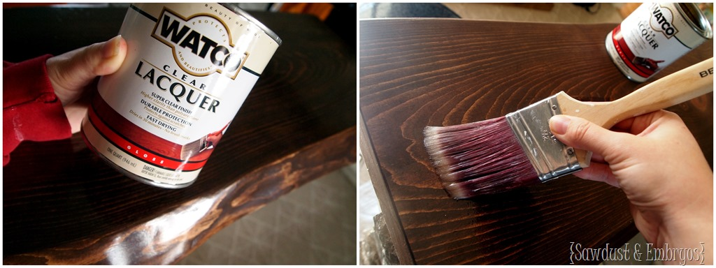 Sealing Live Edge Wood Countertop With Lacquer {Sawdust U0026 Embryos}