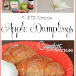 Shortcut Apple Dumplings!