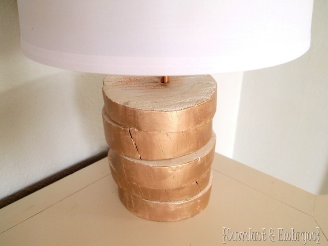 Wood-slab lamp tutorial ...with simple wiring instructions! {Sawdust and Embryos}