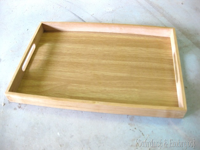 Wooden paper doll on a tray with velcro! {Sawdust and Embryos}