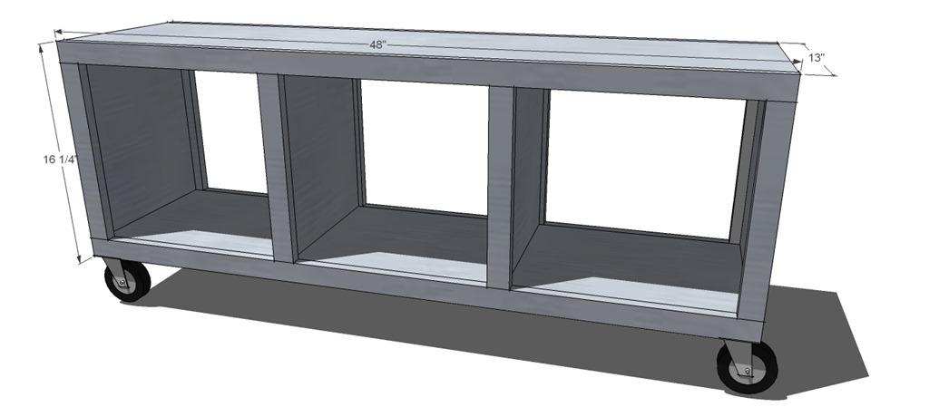 Ana White Building Plans For Rolling Bench