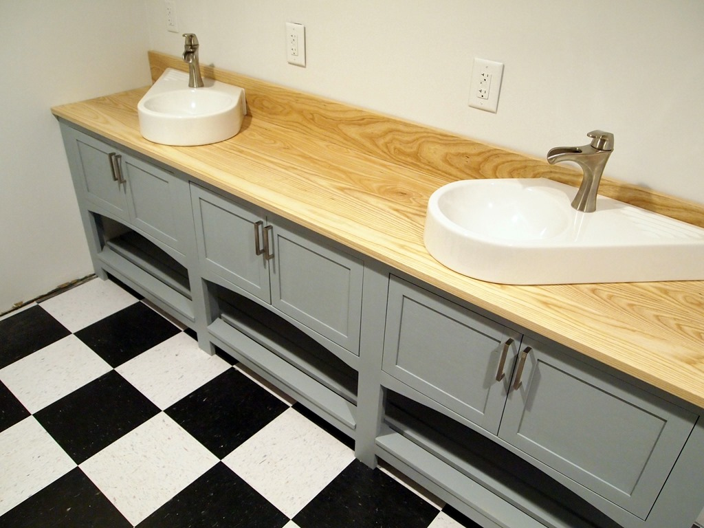 Custom built bathroom cabinets - More From My Site