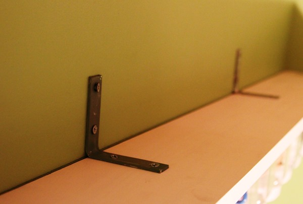 L-Brackets can be used for securing furniture to the wall.