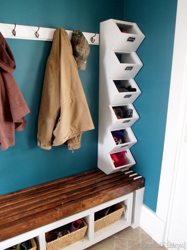 Mudroom Cubbies Storage For Hats Amp Mittens Sawdust And