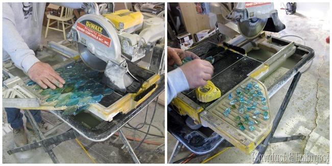 Cutting Glass Tile