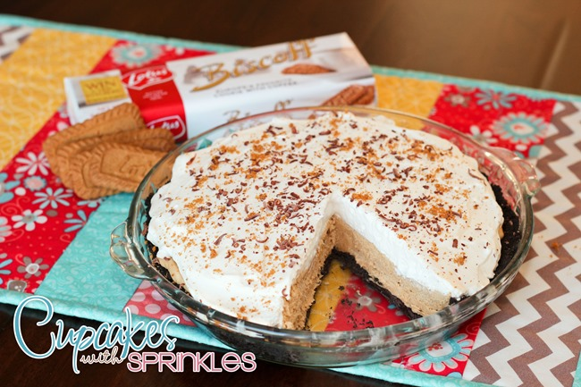 Biscoff Cream Pie {Cupcakes with Sprinkles}