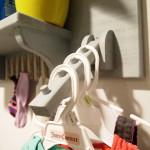 Laundry Room Ironing Board Wall Organizer