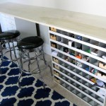 The Studio {Counter/workbench and Storage}
