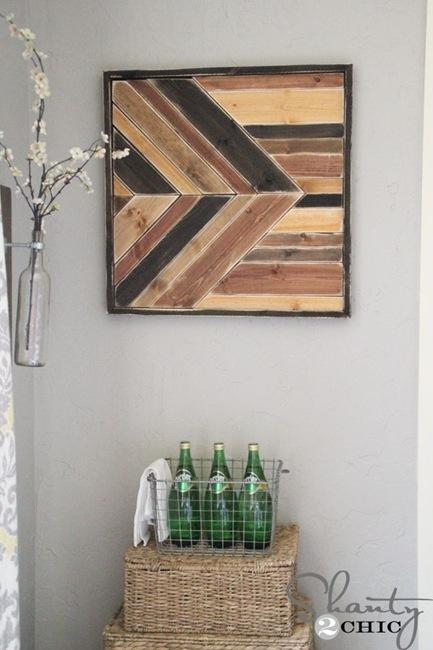 Cute DIY Wooden Art By Shanty Chic