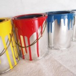 Mini Dipped Paint Can Planters