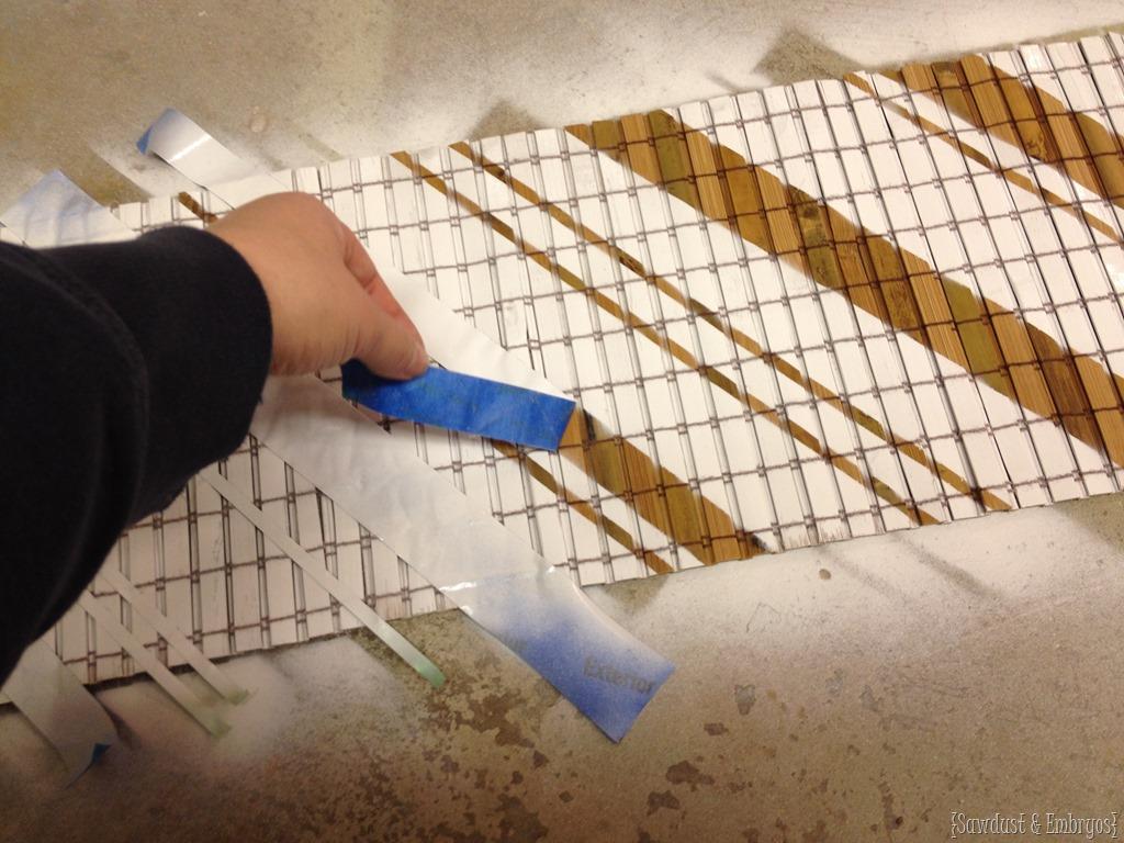 Repurposing Bamboo Blinds into Art Reality Daydream