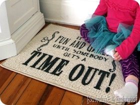 DIY-Time-Out-Rug...-customized-and-portable-using-vinyl-as-a-stencil-SAWDUST-AND-EMBRYOS