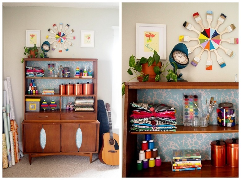 Kids Craft Room {Sawdust and Embryos}