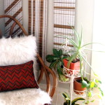 Repurposing Bamboo Blinds into Art!