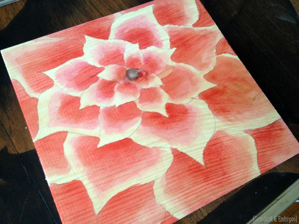 Using Raspberry Juice To Stain Wood And Make Awesome Artwork