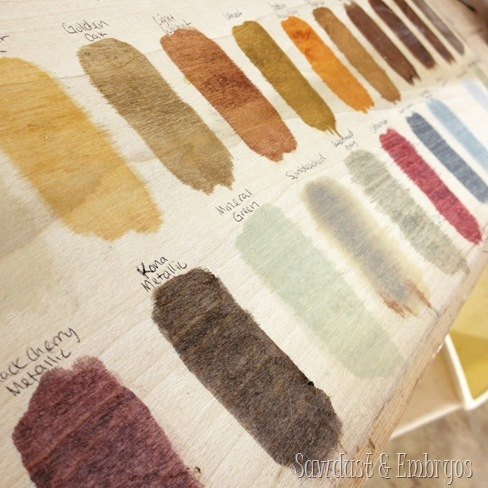 Wood Stain Shades By Rustoleum