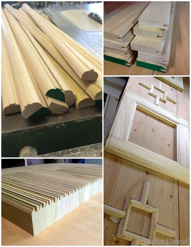 Building AWESOME custom cabinet doors!