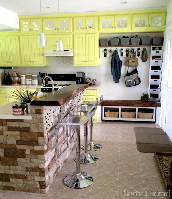 How to Paint a Faux Tile Backsplash | Reality Daydream Unconventional Kitchen Backsplash on unconventional living room, unconventional kitchen islands, unconventional lighting, unconventional kitchen countertops, unconventional kitchen cabinets, unconventional kitchen ideas,