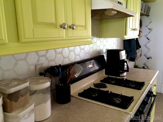 How To Paint A Faux Tile Backsplash Reality Daydream