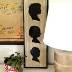 Cutout Silhouette Plaques out of Wood!