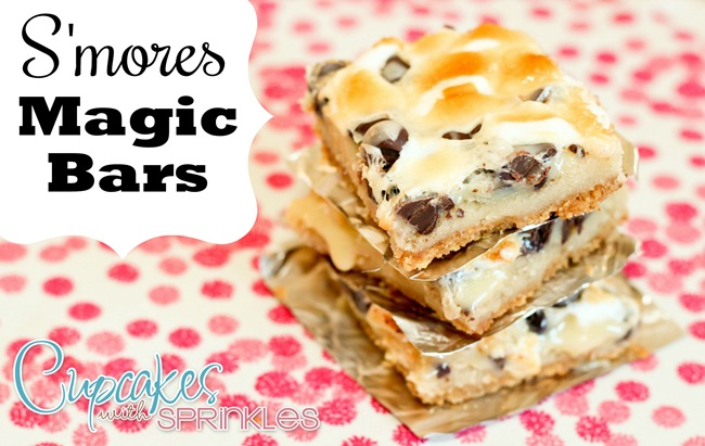 S'more Magic Bars ...easy and yummy!