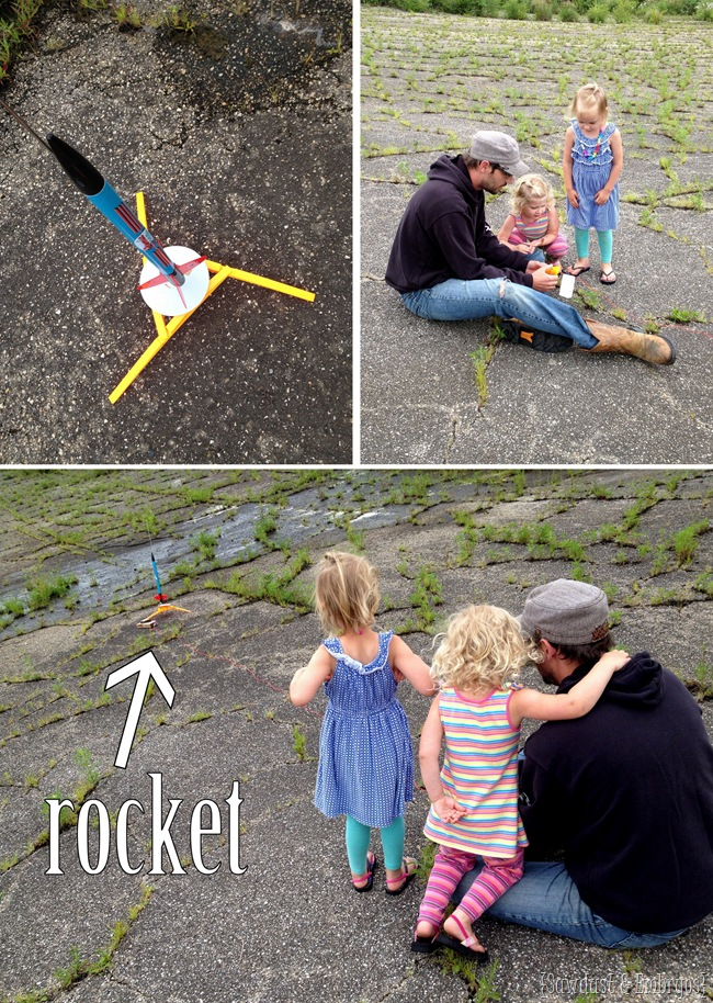 Every little girl needs a rocket {Sawdust and Embryos}