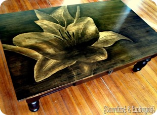 Artwork using Wood Stain {Reality Daydream}