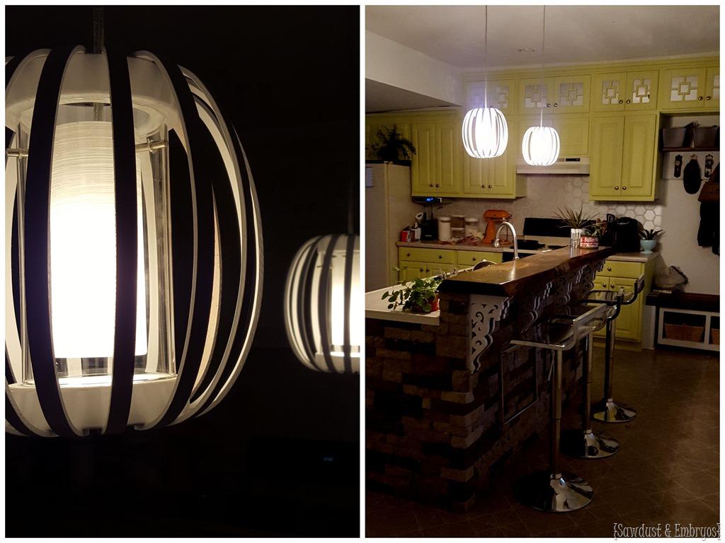 diy furniture west elm knock. DIY West Elm Knock-off Bentwood Pendant Lights At Night!! {Sawdust And Diy Furniture Knock