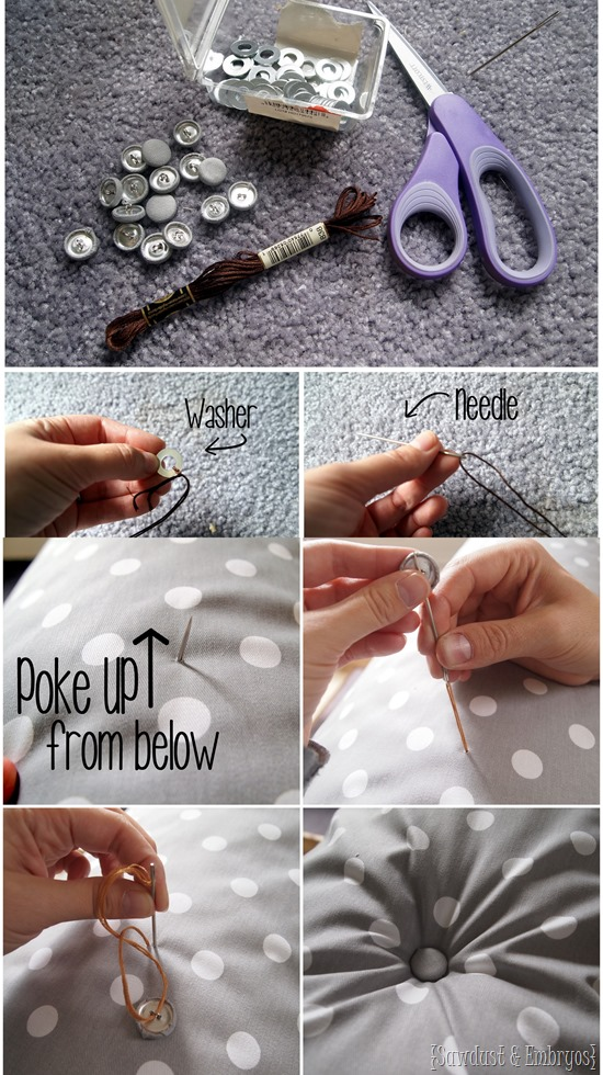 Diamond tufting! Lots of tips and tricks {Sawdust and Embryos}