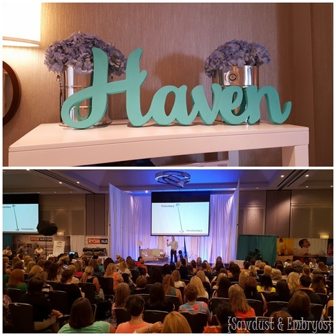 Haven Conference {Sawdust and Embryos}