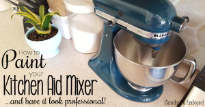 PAINT your Kitchen Aid Mixer! {Sawdust and Embryos} FACEBOOK