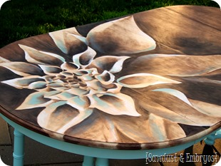 Wood Stain Artwork {Sawdust and Embryos}