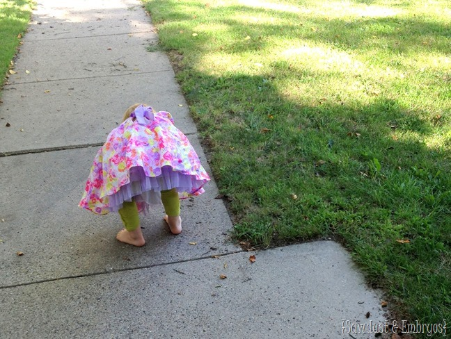 Helping your child get over their fear of bugs {Sawdust and Embryos}