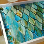 Decorative Mosaic Tray