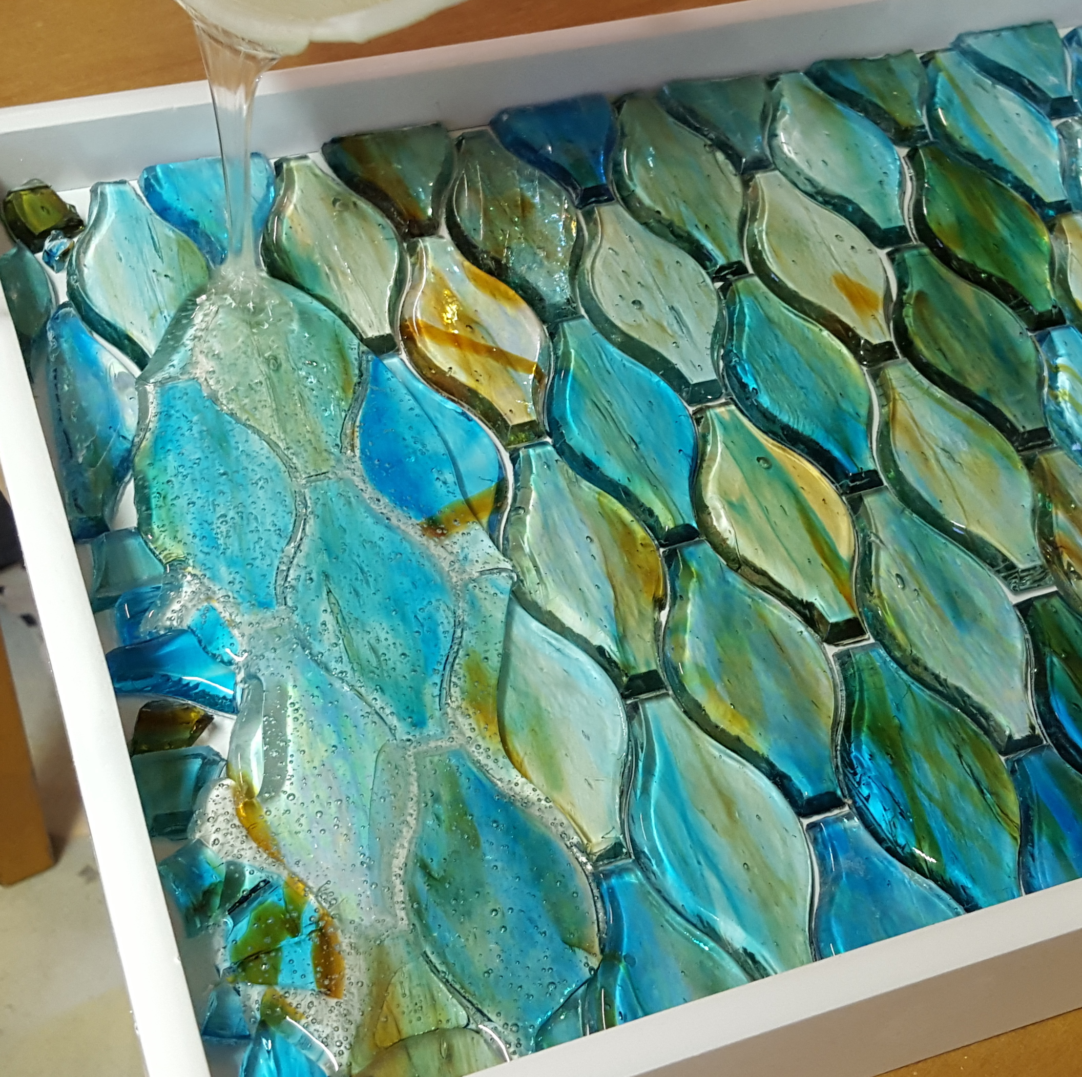 Decorative Mosaic Tray Reality Daydream