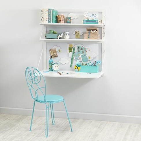 Desk inspiration for the girls' room... from The Land Of Nod