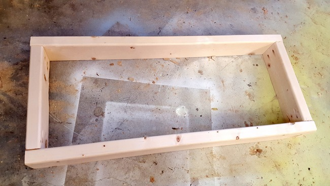 Frame for CHildren's Murphy Table 'Secretary Desk' {Sawdust and Embryos}