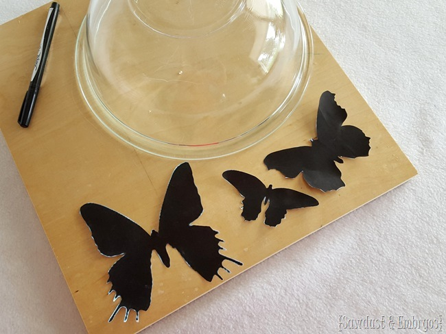 How to make your own butterfly clock {Sawdust and Embryos}