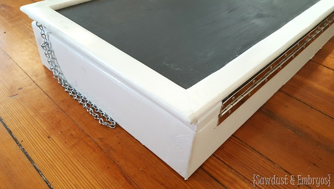 Kid's Wall-Mounted Secretary Desk or 'Murphy Table' {Sawdust and Embryos}